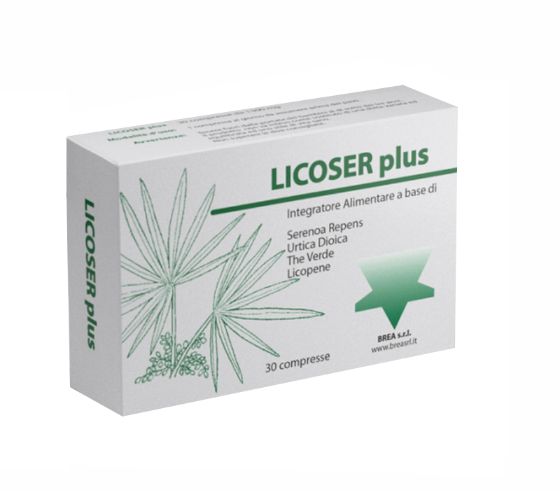 LICOSER PLUS 30 COMPRESSE