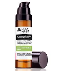 LIERAC PRESCRIPTION - PELLE ADULTA CON IMPERFEZIONI - GEL CONCENTRATO OPACIZZANTE ANTI IMPERFEZIONI - 50 ML
