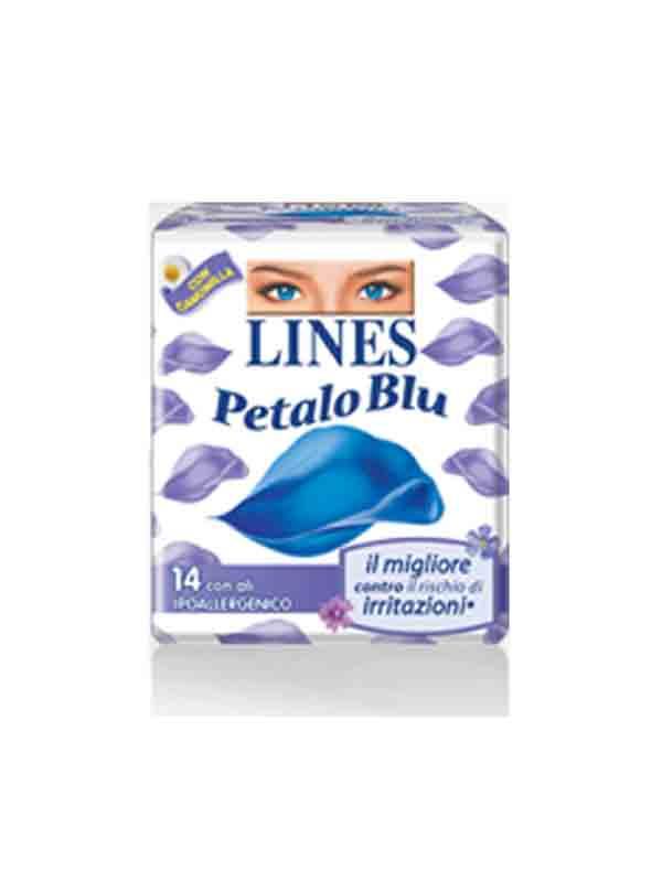 LINES IDEA PETALO BLU LUNGO - 12 PEZZI