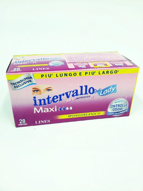 LINES INTERVALLO LADY MAXI 28 SALVASLIP DISTESI