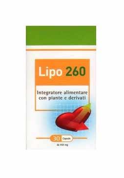 LIPO 260 INTEGRATORE PER IL MANTENIMENTO DELLA COLESTEROLEMIA - 30 CAPSULE