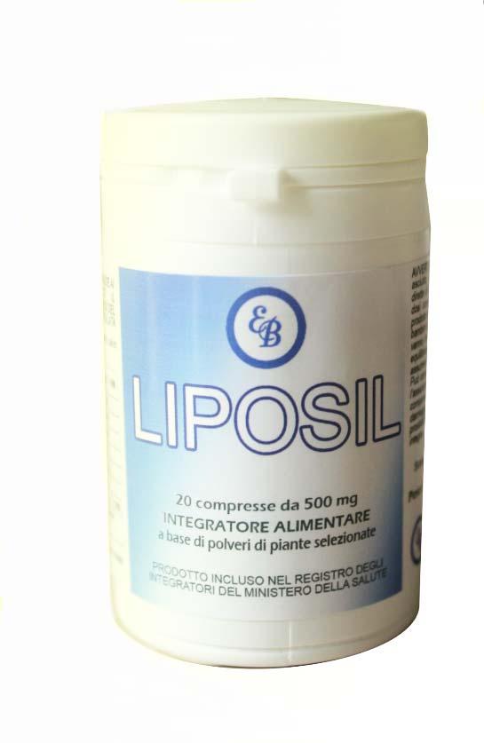 LIPOSIL 20 COMPRESSE 500 MG