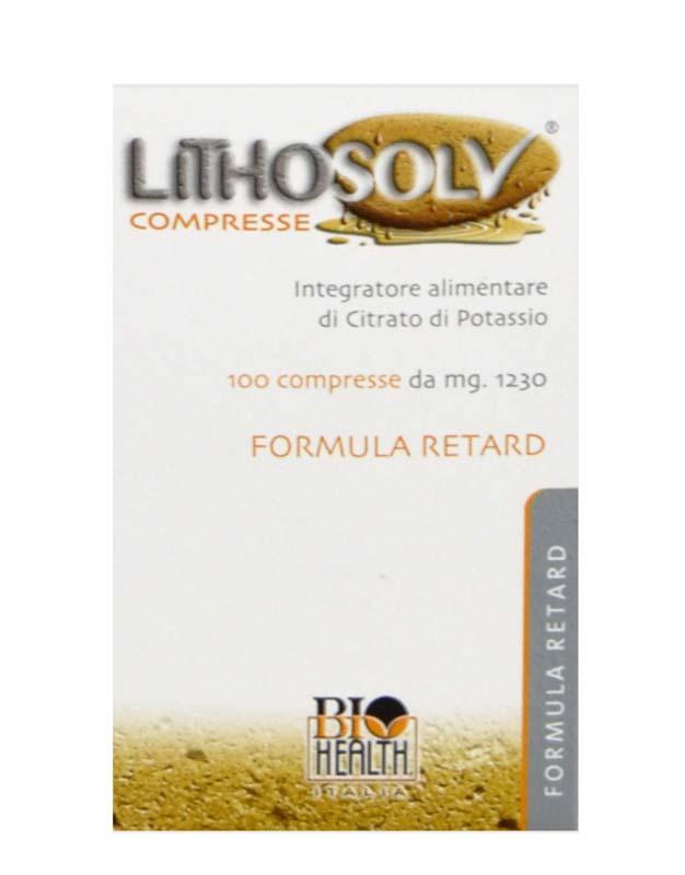 LITHOSOLV FORMULA RETARD 100 COMPRESSE