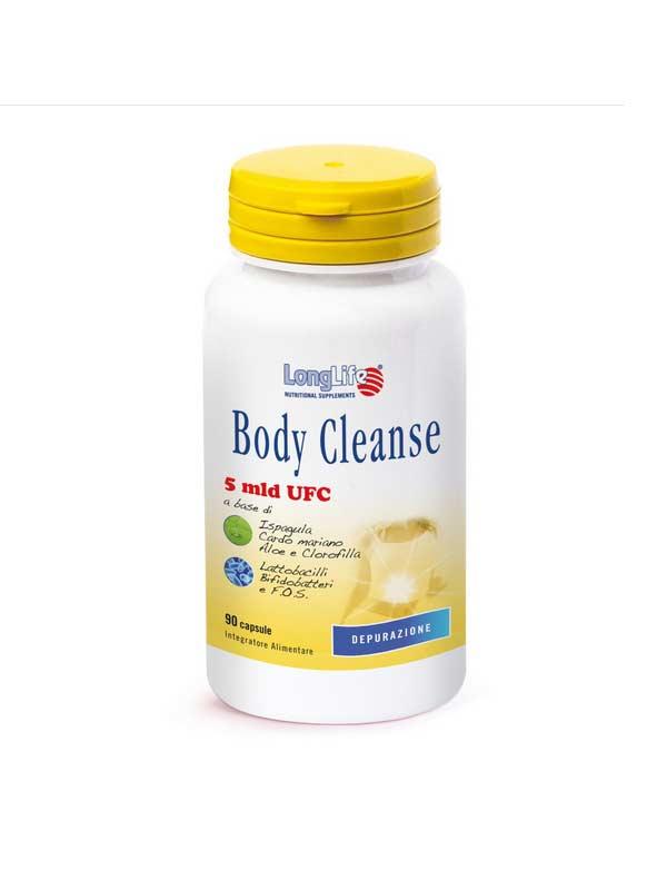 LONGLIFE BODY CLEANSE INTEGRATORE DEPURATIVO DELL'ORGANISMO - 90 CAPSULE