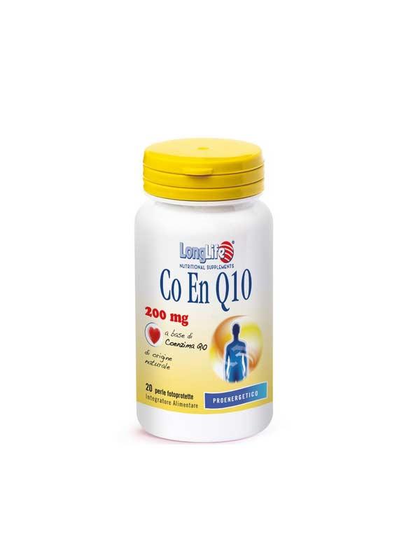 LONGLIFE CO EN Q10 200MG INTEGRATORE DI COENZIMA Q10 - 20 PERLE
