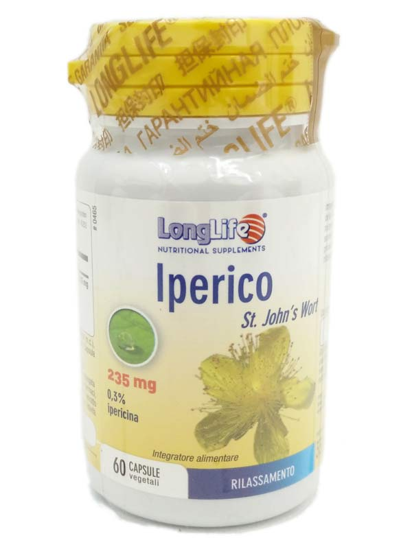 LONGLIFE IPERICO 60 CAPSULE