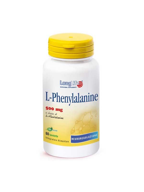 LONGLIFE L-PHENYLANINE INTEGRATORE DI AMINOACIDI - 60 TAVOLETTE