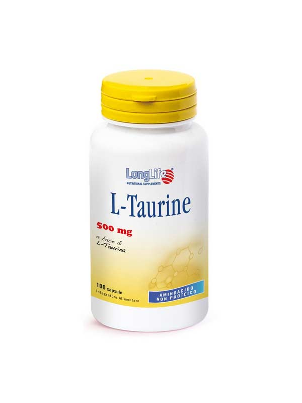LONGLIFE L-TAURINE INTEGRATORE DI AMINOACIDI - 100 CAPSULE
