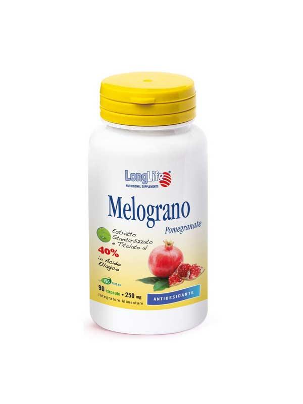 LONGLIFE MELOGRANO INTEGRATORE ANTIOSSIDANTE - 90 CAPSULE