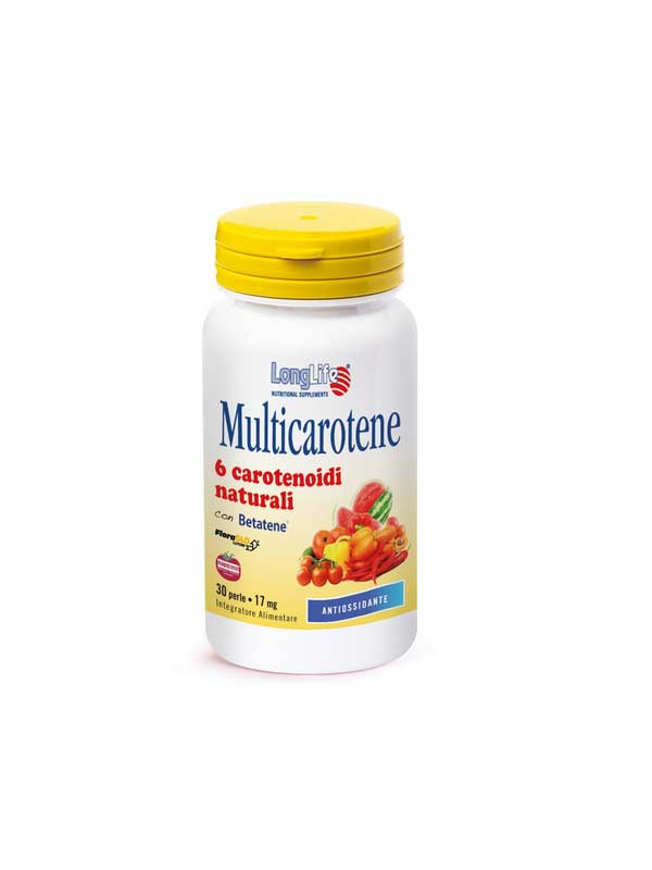 LONGLIFE MULTICAROTENE INTEGRATORE DI CAROTENOIDI - 30 PERLE