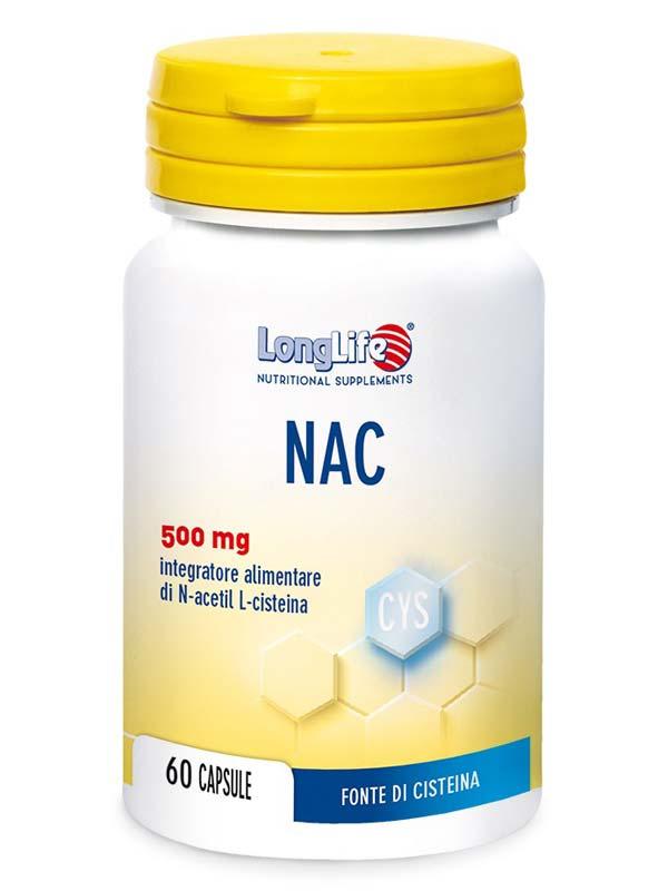 LONGLIFE NAC 60 CAPSULE