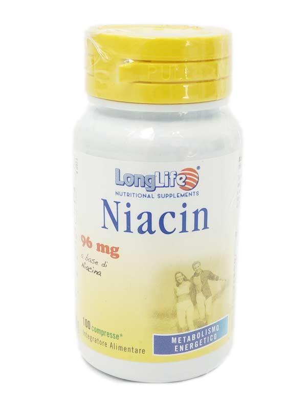 LONGLIFE NIACIN 100 COMPRESSE