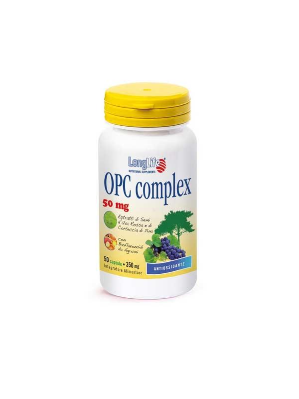 LONGLIFE OPC COMPLEX INTEGRATORE IMMUNOSTIMOLANTE - 50 CAPSULE