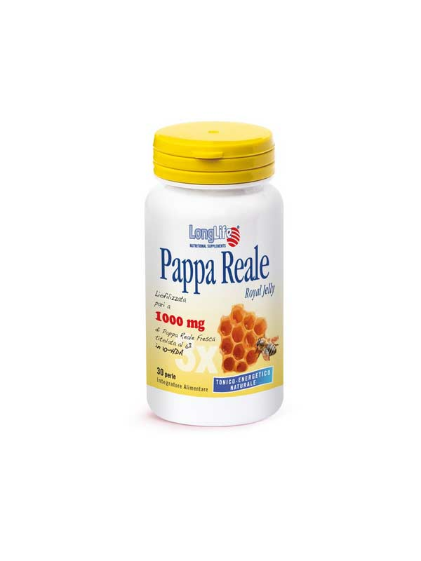 LONGLIFE PAPPA REALE 1000MG INTEGRATORE ENERGETICO - 30 PERLE