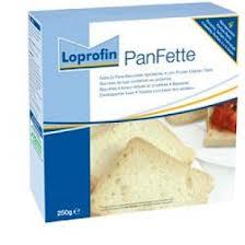 LOPROFIN PANFETTE PANE DI FETTE BISCOTTATE A BASSO CONTENUTO PROTEICO - 300 G