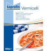 LOPROFIN VERMICELLI A BASSO CONTENUTO PROTEICO - 250 G