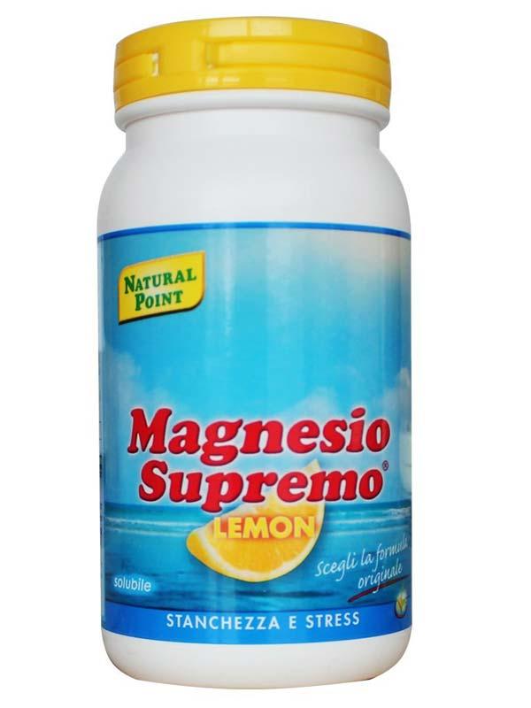 MAGNESIO SUPREMO IN POLVERE GUSTO LIMONE 150 G