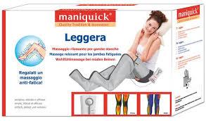 MANIQUICK LEGGERA - MASSAGGIO RILASSANTE PER GAMBE STANCHE