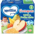 MELLIN FRUTTAPURA 100% FRUTTA MISTA DAL QUARTO MESE 4 x 100 G