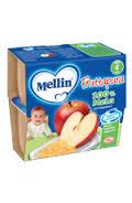 MELLIN® FRUTTAPURA 100% MELA DAL QUARTO MESE 4 x 100 G