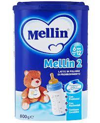 MELLIN LATTE MELLIN 2 IN POLVERE DA 6 A 12 MESI 800 G