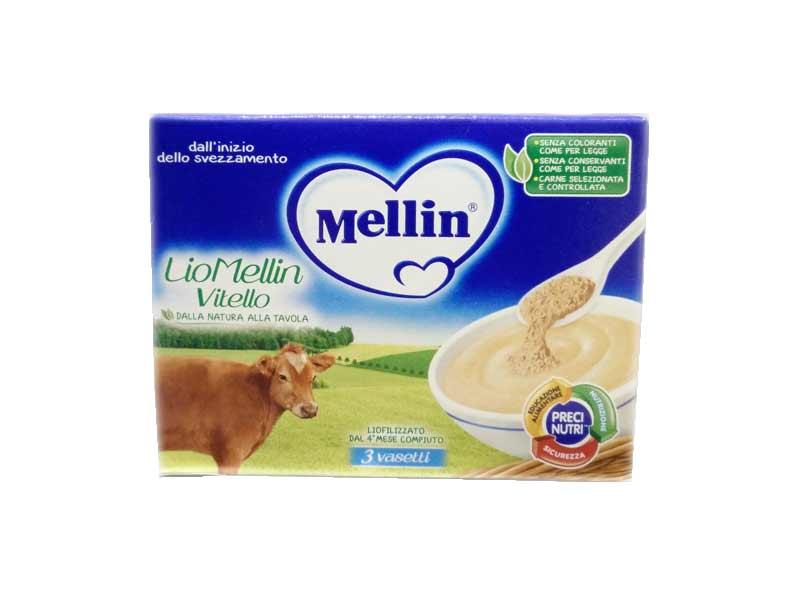 MELLIN® LIOMELLIN VITELLO LIOFILIZZATO DAL QUARTO MESE 3 x 10 G