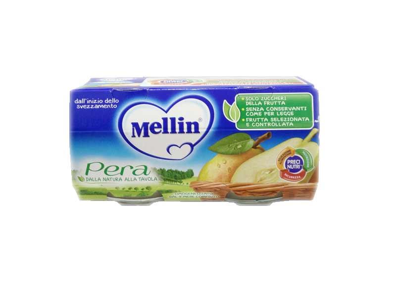 MELLIN® OMOGENEIZZATO PERA DAL QUARTO MESE COMPIUTO 2 x 100 G