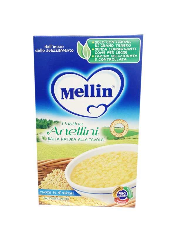 MELLIN PASTINA ANELLINI DAL QUINTO MESE COMPIUTO 350 G