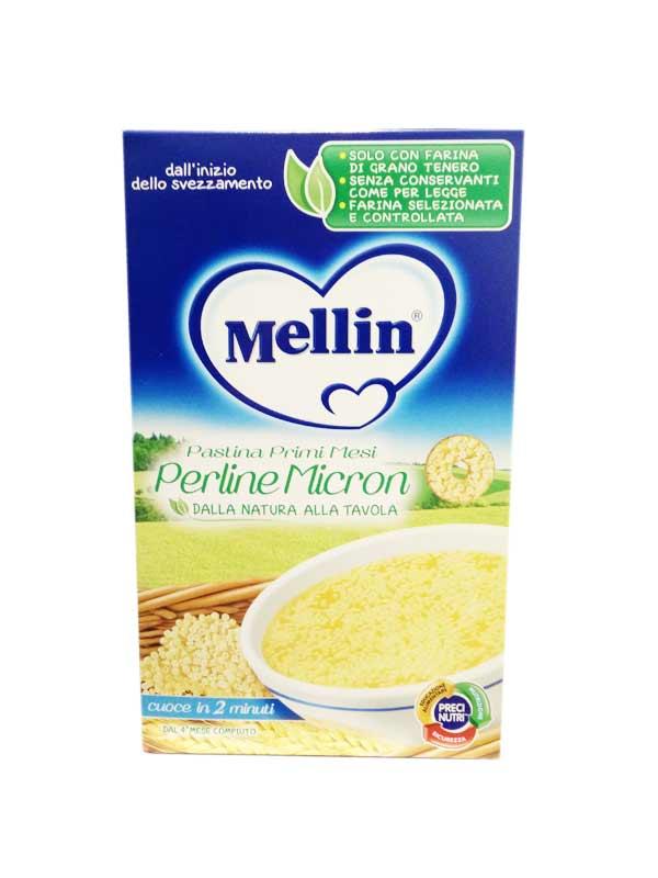 MELLIN PASTINA PERLINE MICRON DAL QUARTO MESE COMPIUTO 350 G