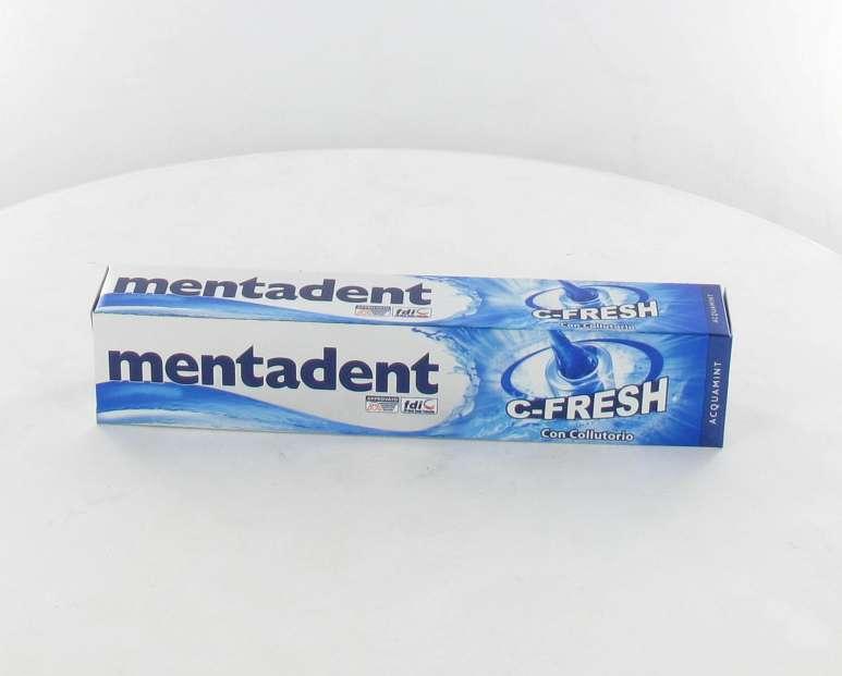 MENTADENT C-FRESH DENTIFRICIO CON COLLUTTORIO 75 ML