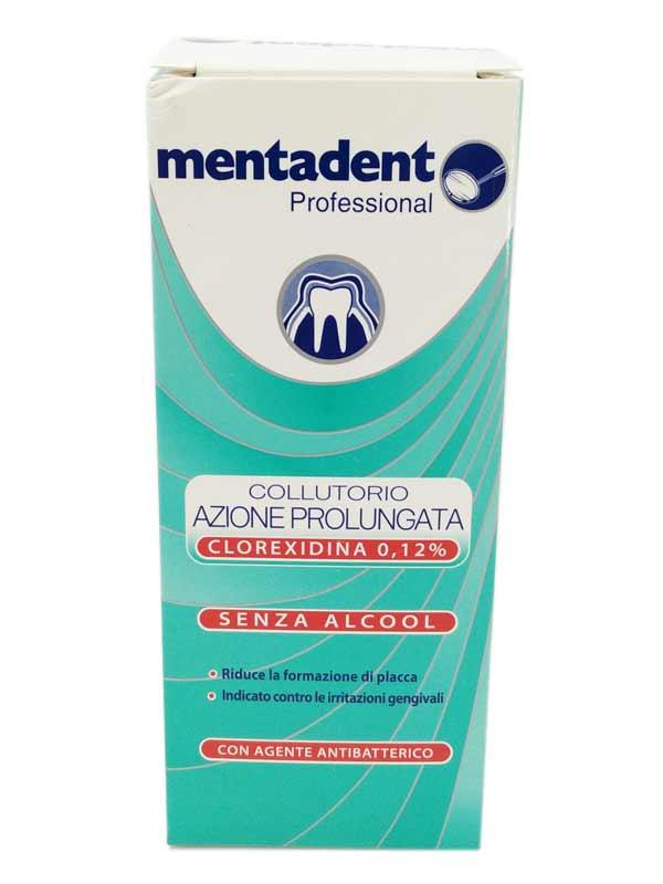 MENTADENT PROFESSIONAL COLLUTTORIO AZIONE PROLUNGATA 0,12 200 ML
