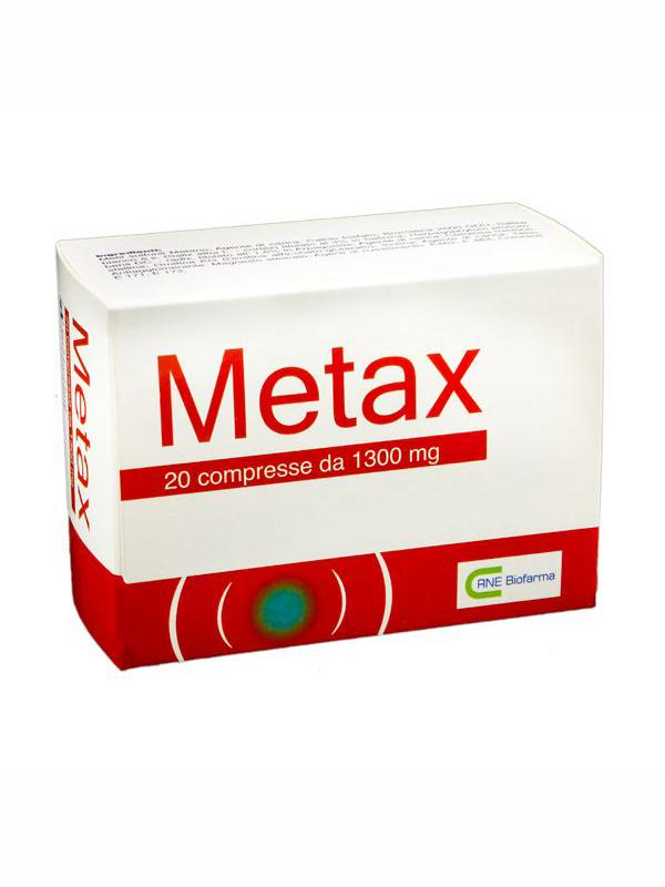 METAX 20 COMPRESSE DA1300 MG