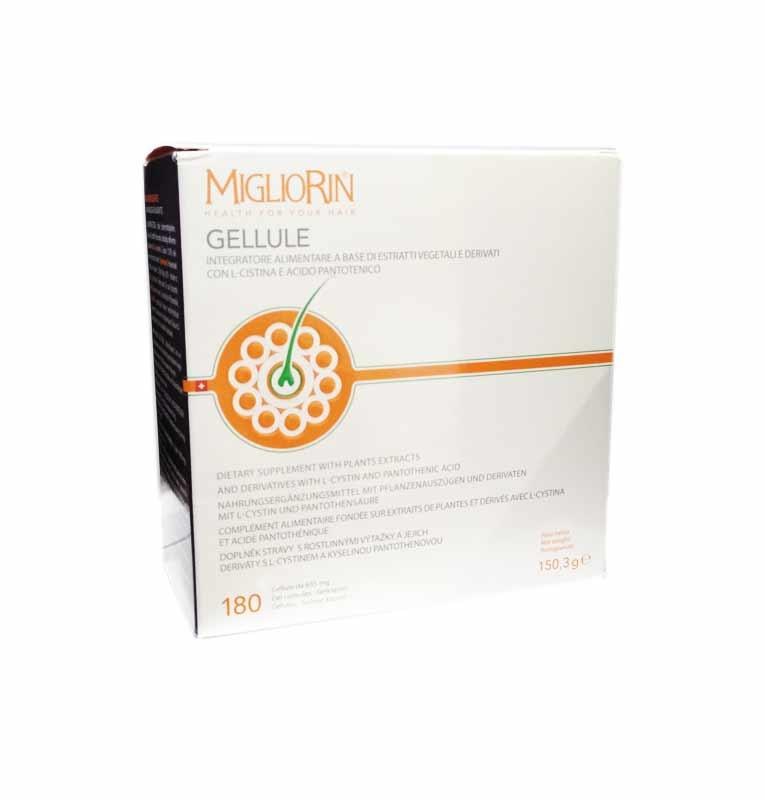 MIGLIORIN GELLULE 180 CAPSULE DA 835 MG
