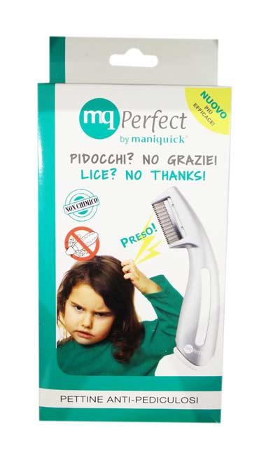 MQ PERFECT PETTINE ELETTRICO ANTI PEDICULOSI