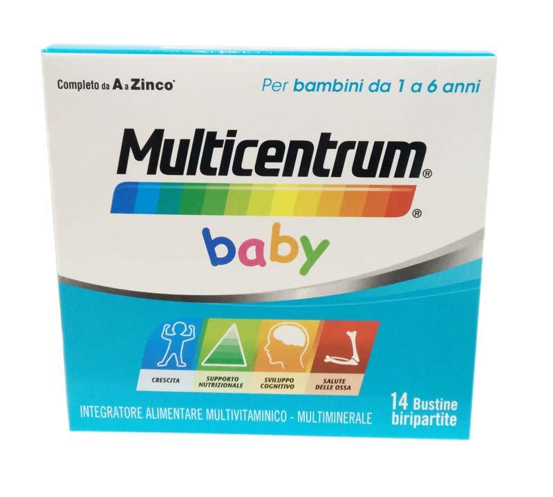 MULTICENTRUM® BABY 14 BUSTINE BIRIPARTITE