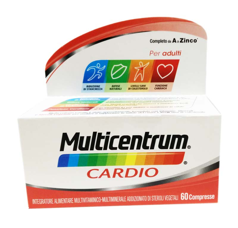 MULTICENTRUM® CARDIO 60 COMPRESSE