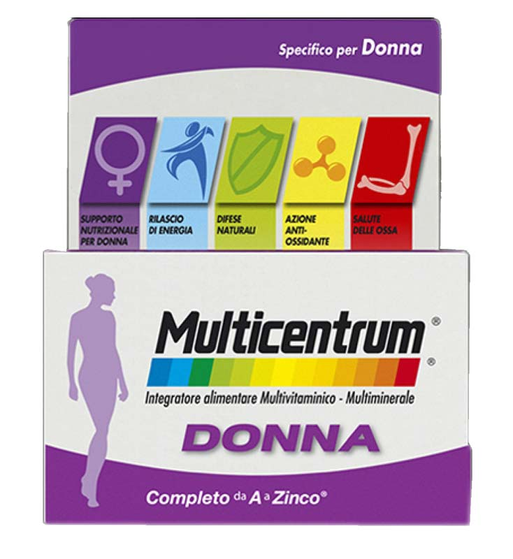 MULTICENTRUM® SPECIFICO PER DONNA 30 COMPRESSE
