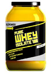 MULTIPOWER PROFESSIONAL PURE WHEY ISOLATE 100 - GUSTO FRESH VANILLA - 908 GR