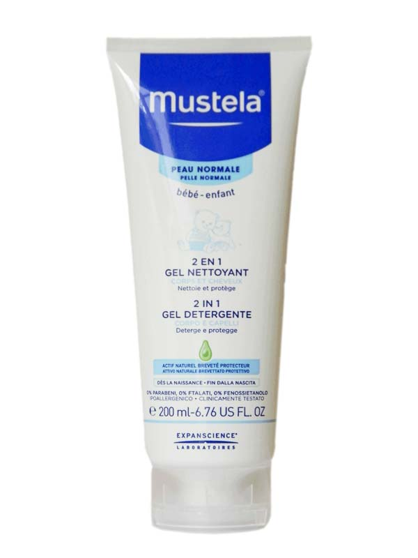 MUSTELA® 2 IN 1 GEL DETERGENTE 200 ML