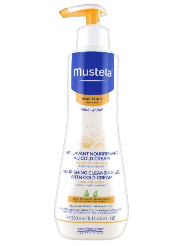 MUSTELA DETERGENTE NUTRIENTE ALLA COLD CREAM 300 ML