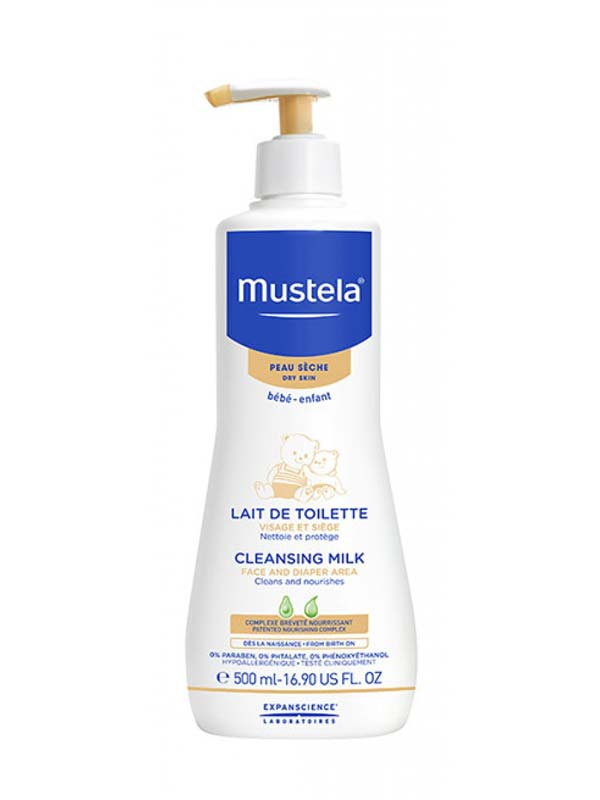 MUSTELA® LATTE DI TOILETTE 500 ML