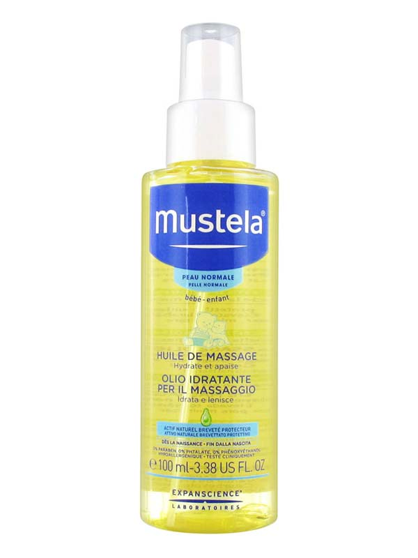 MUSTELA® OLIO IDRATANTE PER MASSAGGIO 100 ML