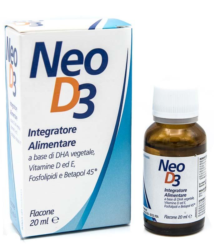NEO D3 GOCCE NIPIOLOGICHE FLACONE DA 20 ML