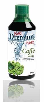 NEO DRENIUM  FAST CAFFE' VERDE INTEGRATORE ALIMENTARE - 490 ML
