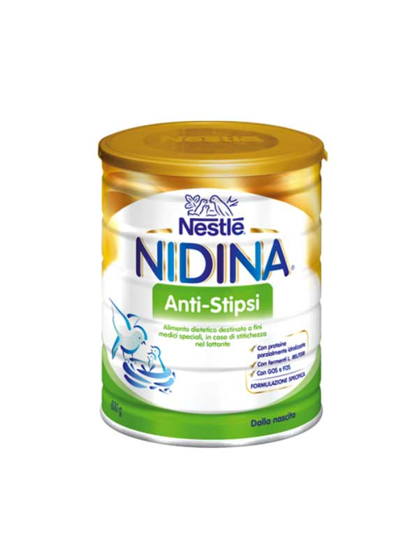NESTLE NIDINA ANTI STIPSI LATTE IN POLVERE 800 G