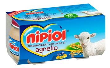 NIPIOL OMOGENEIZZATO AGNELLO - DA 4 MESI - 2 x 80 G