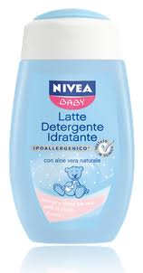 NIVEA BABY LATTE DETERGENTE IDRATANTE 200 ml