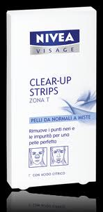 NIVEA CLEAR UP STRIPS ZONA T 4+4 CEROTTI