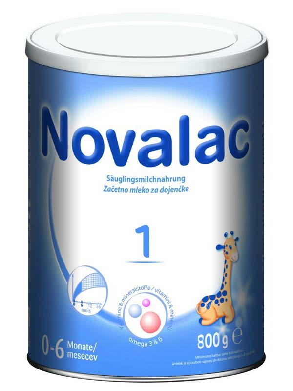 NOVALAC 1 LATTE IN POLVERE PER LATTANTI DA 0 A 6 MESI 800 G