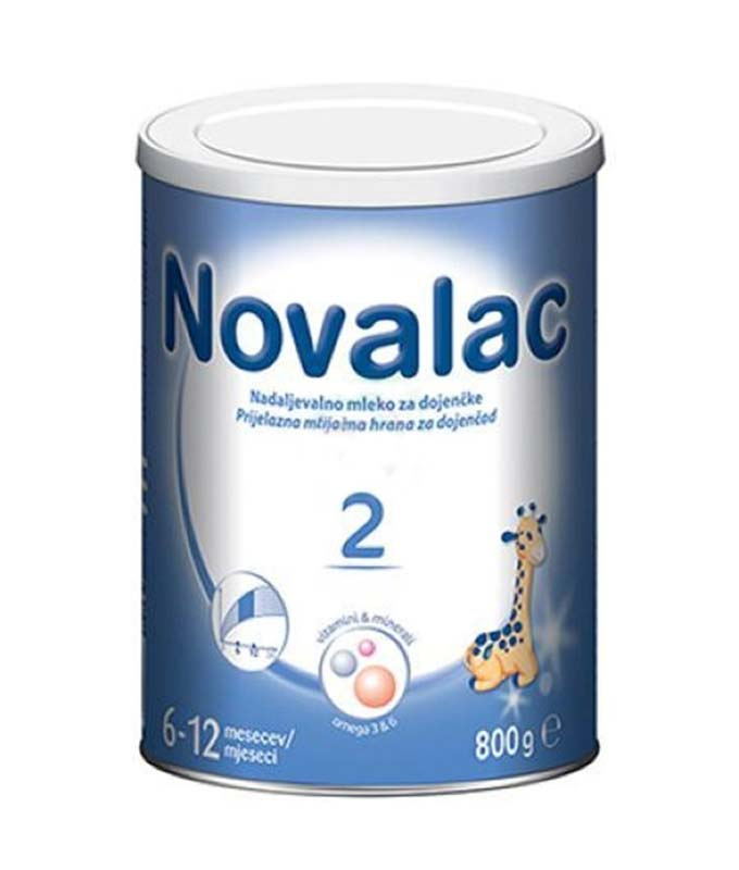 NOVALAC 2 LATTE IN POLVERE DI PROSEGUIMENTO DA 6 A 12 MESI 800 G